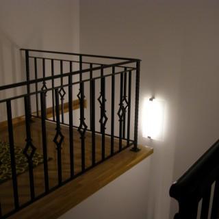 Corpuri de iluminat balustrada