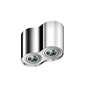 Plafoniera Bross 2 argintiu