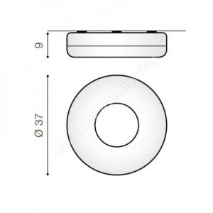 Plafoniera Ring dimensiuni