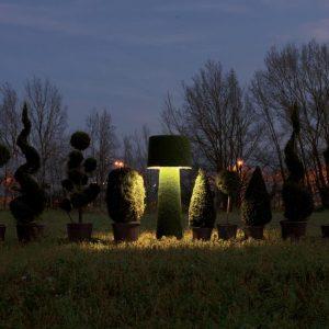 Lampadar pentru exterior Erbavoglio detaliu