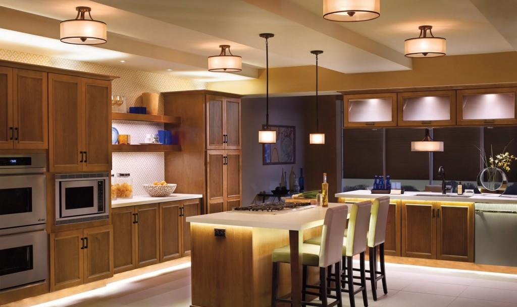 iluminatul și bucătăria
