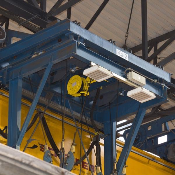 Grill corp de iluminat industrial 4