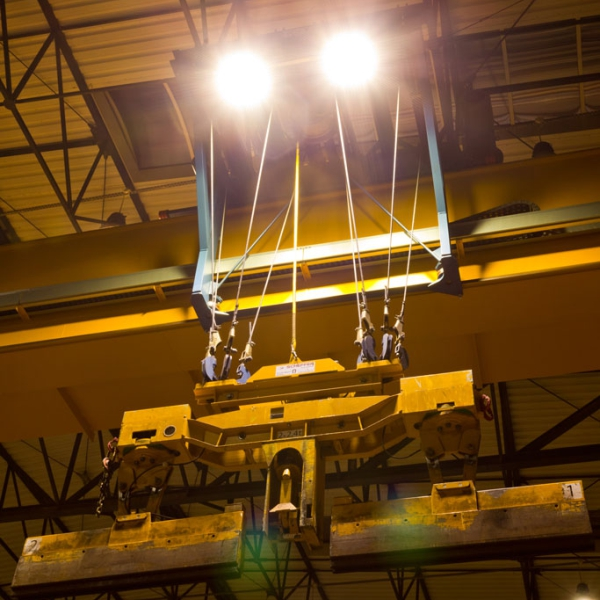 Grill corp de iluminat industrial 6