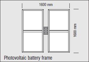 Stalp de iluminat Solaris rama baterie