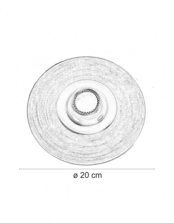 Spot incastrabil 00906 F20 dimensiuni