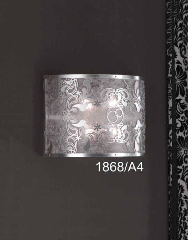 Aplica Cashmere argintie