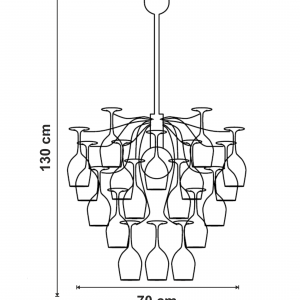 Lustra Sauvignon dimensiuni