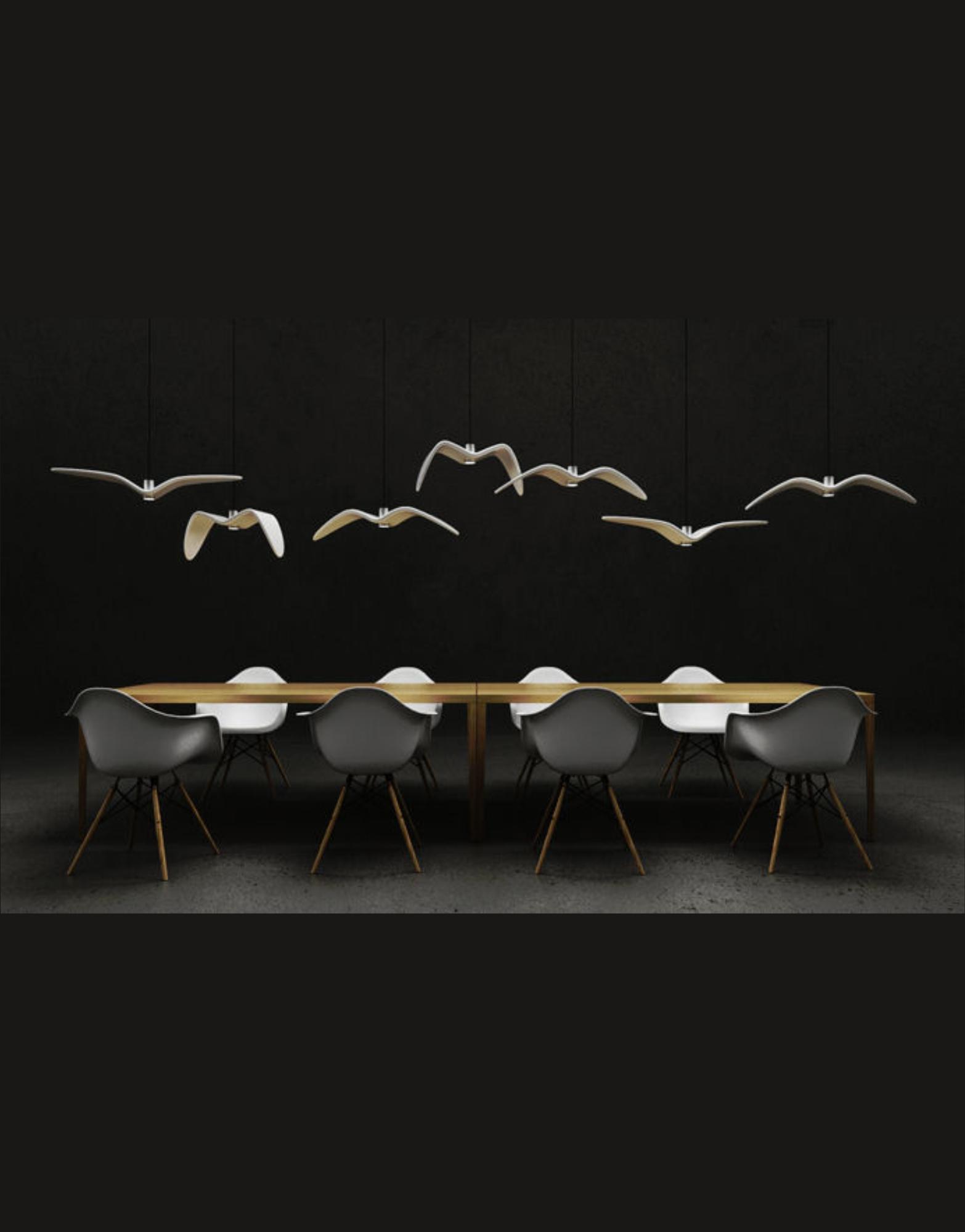 Lustra de interior Night Birds ambient