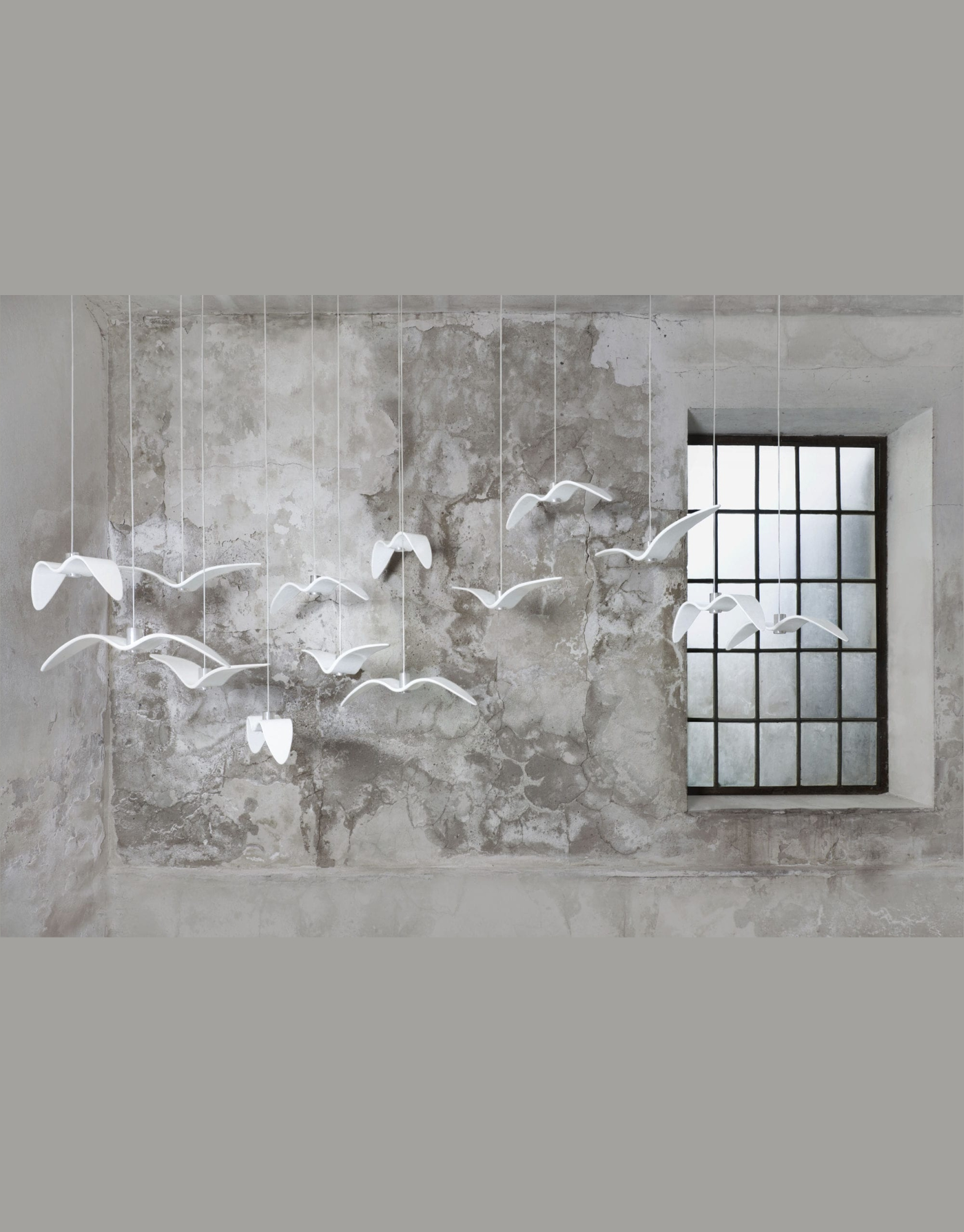 Lustra de interior Night Birds alb ambient
