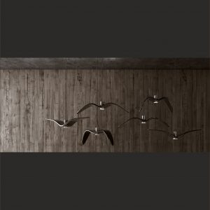 Lustra de interior Night Birds negru ambient