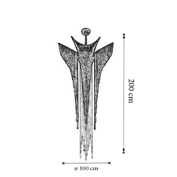 Dimensiuni Candelabru Atlantida