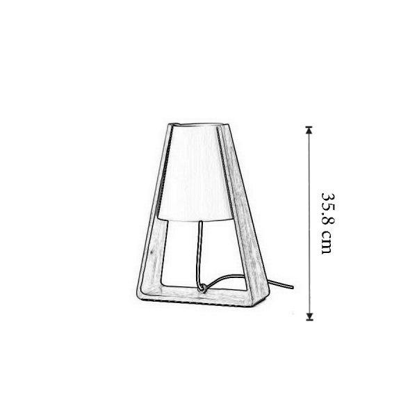 Dimensiuni Lampa de masa Bend