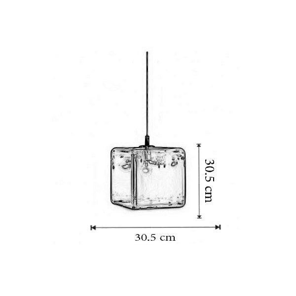 Dimensiuni Lustra H2O