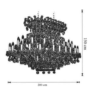 Dimensiuni Candelabru Maria Terezi