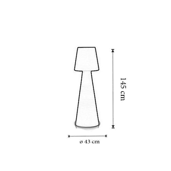 Dimensiuni Lampadar Pivot Small