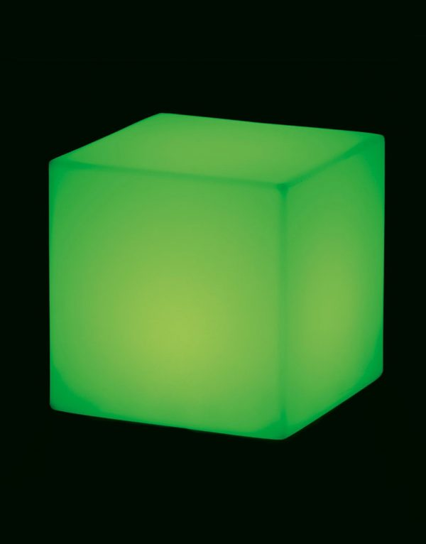 Lampadar Cubo verde