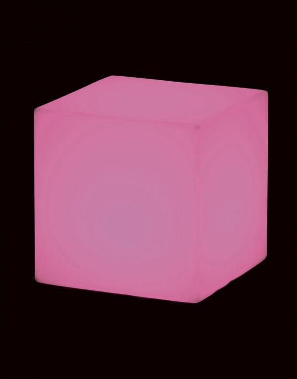Lampadar Cubo roz