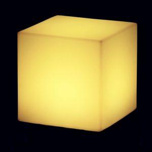 Lampadar Cubo galben