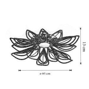 Dimensiuni Plafoniera Girasole
