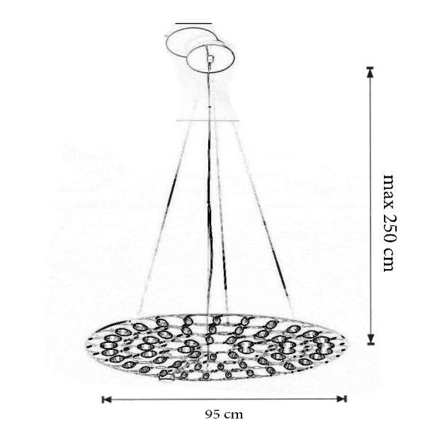 Dimensiuni Lustra Lafra