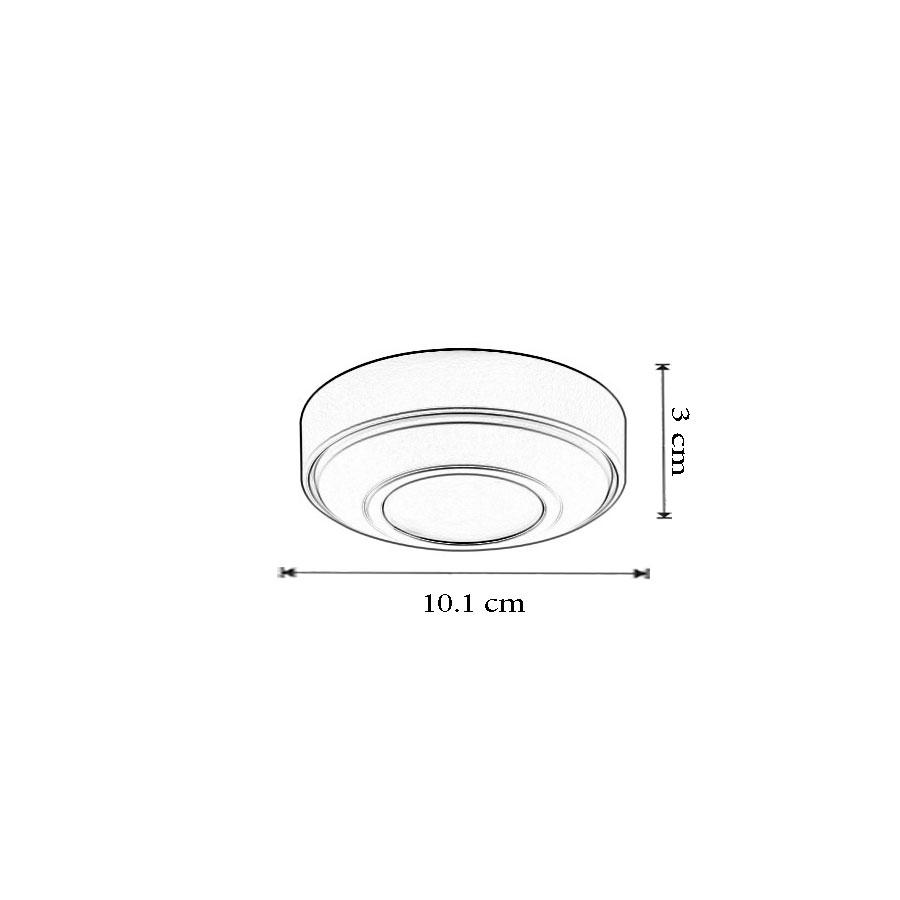 dimensiune Plafoniera PF 10 -brand Ivela